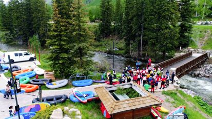 Vail Rec District's Whitewater Race Series